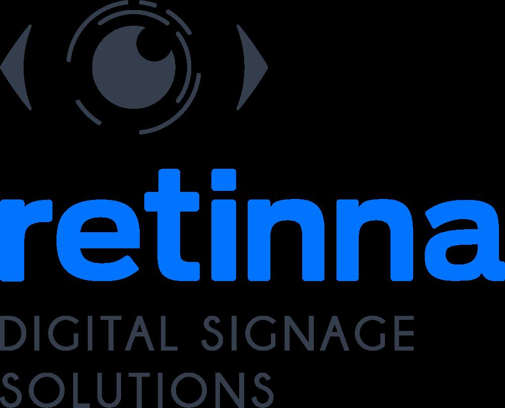 Logo Retinna Digital Signage Solutions